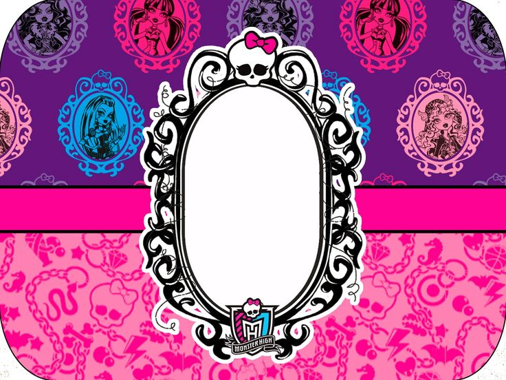 monster high free printable labels and toppers
