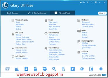 Glary Utilities Professional Edition 4.7 Free Download Full Version With Registration Code - See more at: http://www.wantnewsoft.blogspot.in/2014/03/glary-utilities-professional-edition-47.html#sthash.GzPHir3N.dpuf
