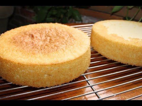 Vanilla Sponge Cake Recipe | Gretchen's Bakery