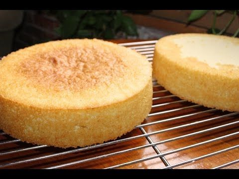 Easy Homemade Vanilla Cake from Scratch: Vanilla Cake Recipe by Cookies Cupcakes and Cardio