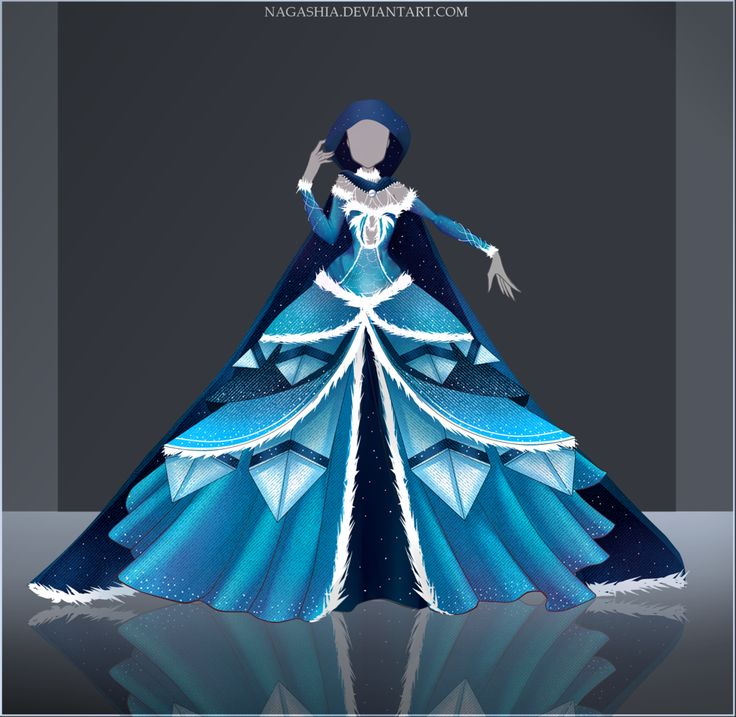 Giveaway/Raffle: Frozen Night Outfit #2 CLOSED by Nagashia.deviantart.com on @DeviantArt