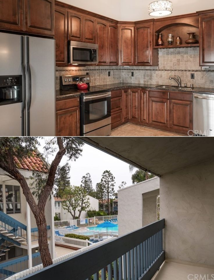 Redondo Beach - Wonderfully situated close to Alta Vista Park, this beautiful 2 bedroom condominium is located on the TOP FLOOR in the highly sought after resort style community, Brookside Village! Features include vaulted ceilings, seamless open floor plan, large balcony, custom built cabinetry, and a spacious master with two closets…