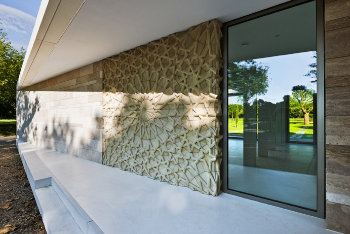 Islamitisch uitvaartpaviljoen  Design: atelier PUUUR  Commissioner: De Nieuwe Ooster