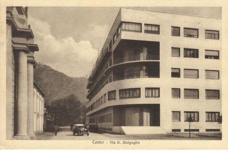 Giuseppe Terragni, Edificio Novocomun in Como, Italy, 1927-9