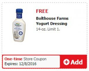 FREE Bolthouse Farms Yogurt Dressing at Safeway on http://hunt4freebies.com