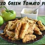 Baked Green Tomato Fries