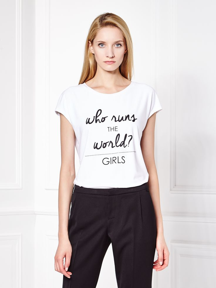 Another feminist t-shirt from Mohito.