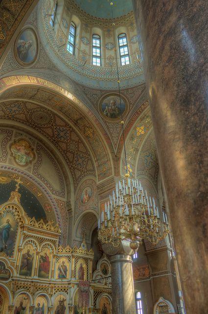 Uspenski Cathedral. Helsinki, Finland