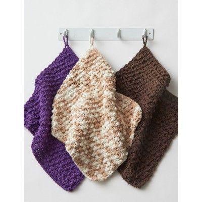 Free Beginner Dishcloth Crochet Pattern
