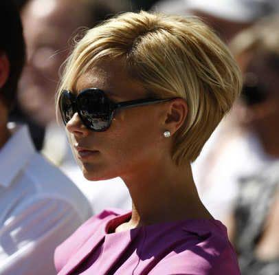 Victoria Beckham Trendy Hairstyle