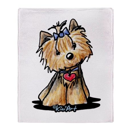yorkie cartoon images - Google Search