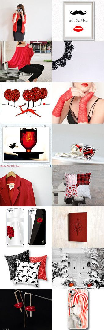 Black & Red gift ideas from Artisans Collaborative team
