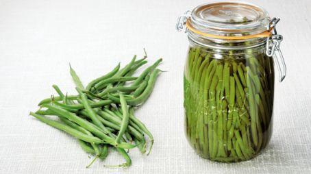 Conserves maison - Haricots verts au naturel