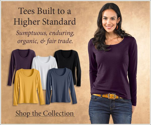 Fair trade clothing for women
