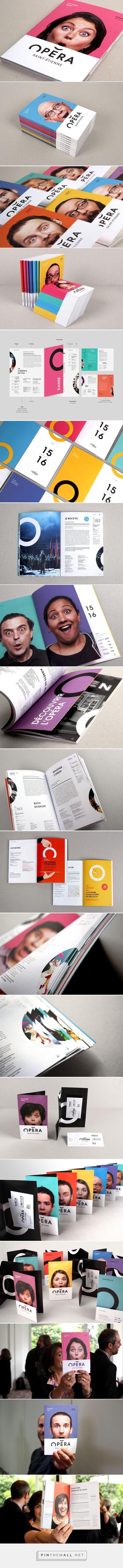 Saint Etienne Opera House - Brand design