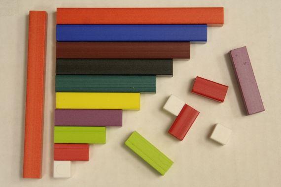 Travailler le concept de nombre avec les réglettes cuisenaire - L'école de Julie