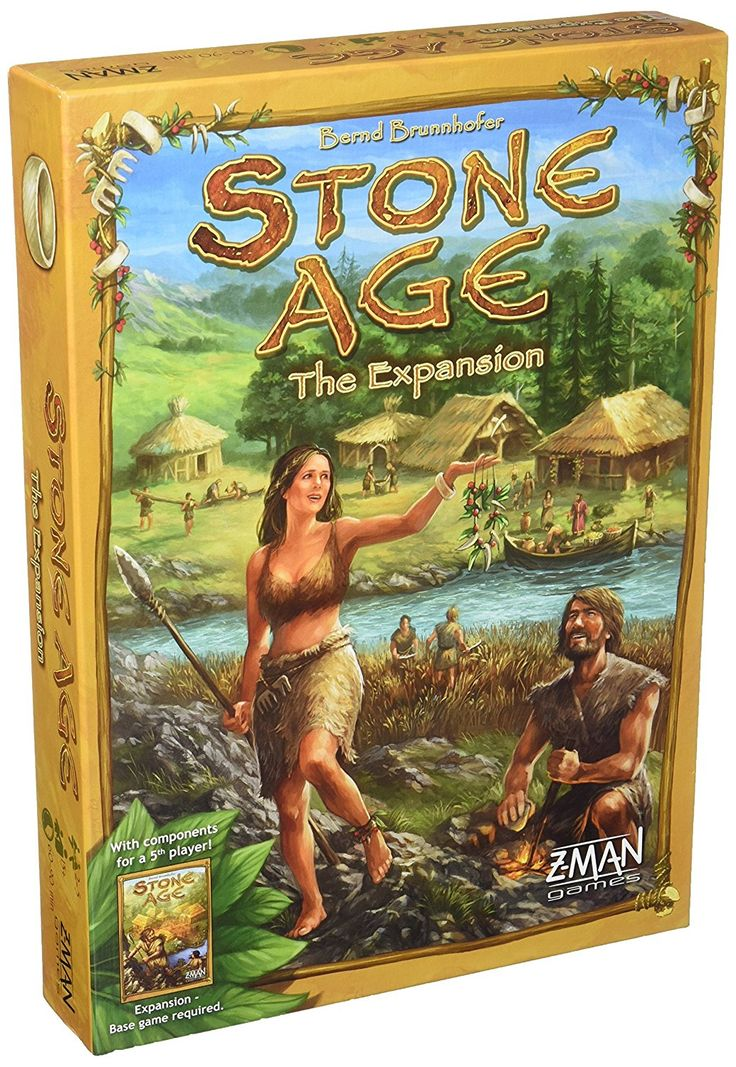 Amazon.com: Stone Age: The Expansion Board Game: Toys & Games