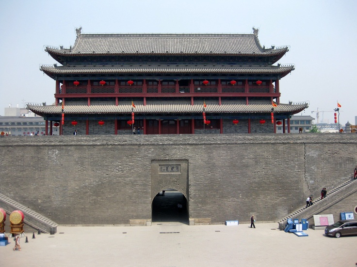 The ancient City Gate of Xi'an, China