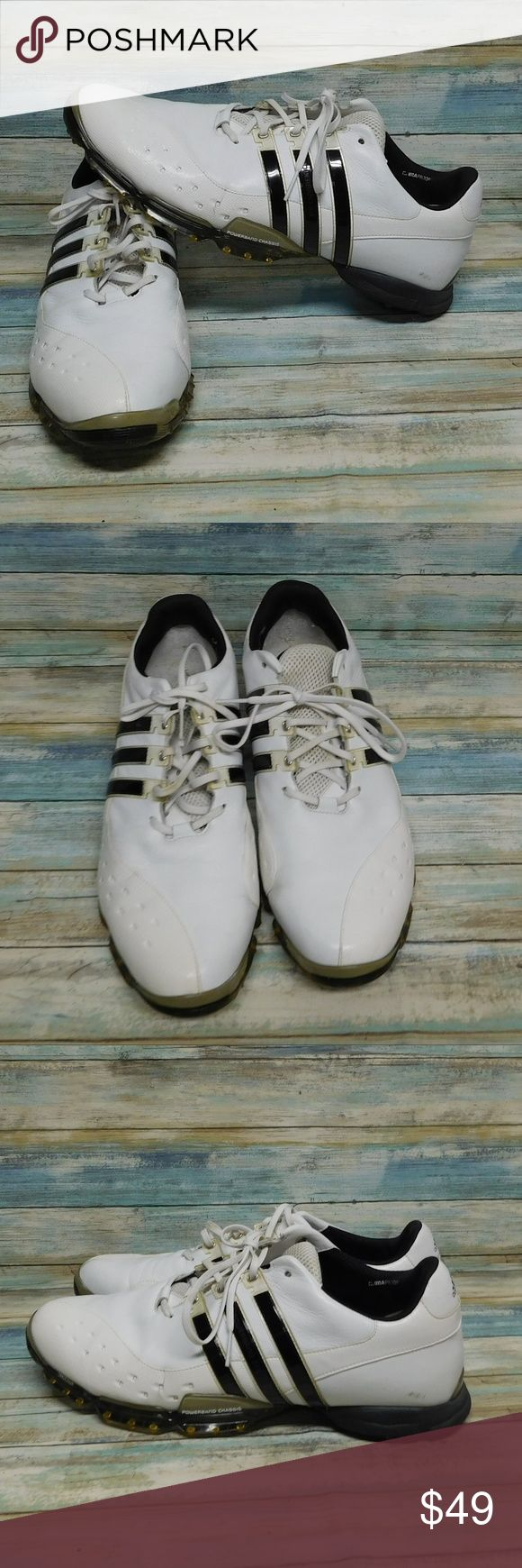 Adidas Clima Proof Power Band 3.0 Men's Golf Shoes Adidas Clima Proof Power Band 3.0 Men's Golf Shoes  size 15  in very good condition  just needs insoles adidas Shoes Athletic Shoes