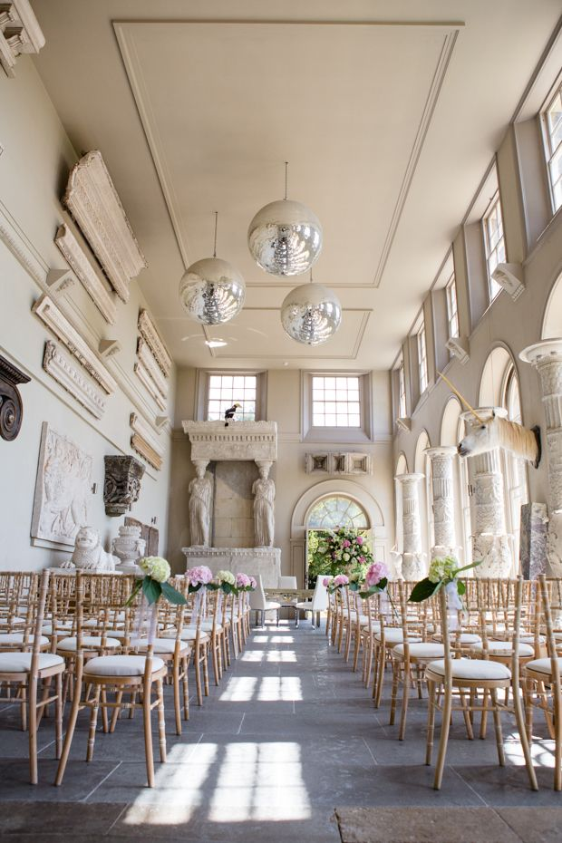A True Country House Wedding at Aynhoe