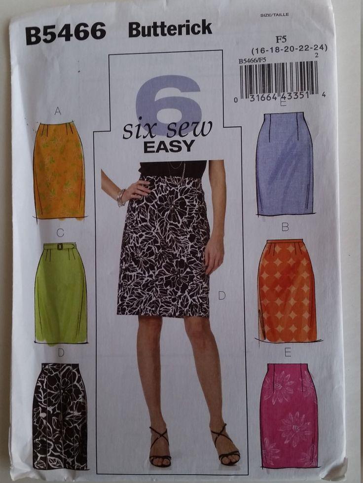 47 besten Kwik Sew Vogue McCalls Simplicity New Look Butterick and ...