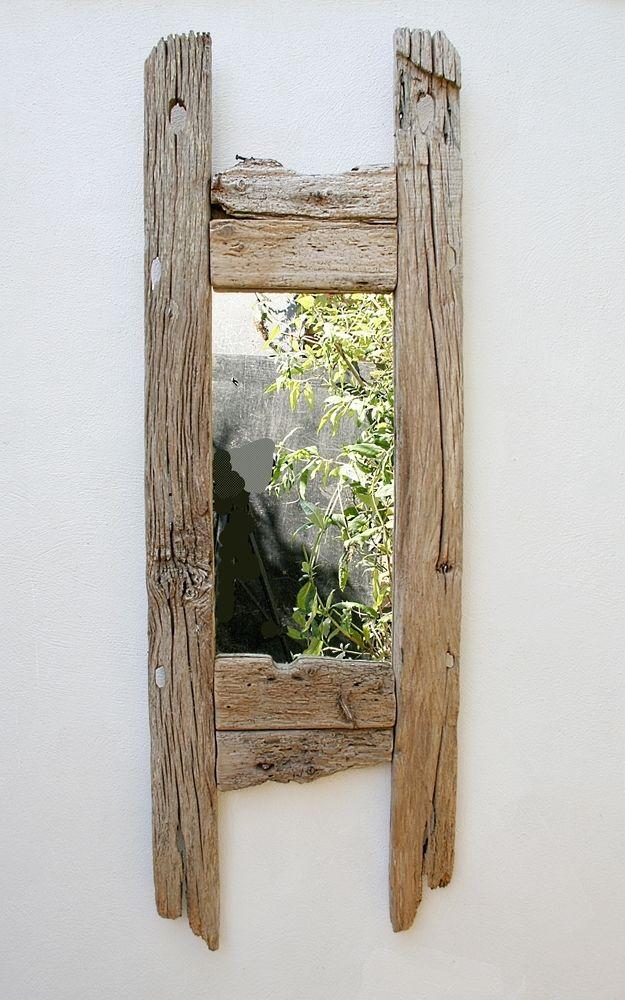 Large Driftwood Mirror,Oak, Large Drift Wood Mirror, Natural Wood Mirror 150CM X 50CM