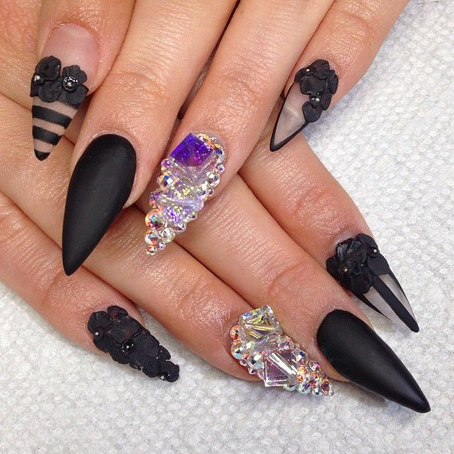 52 best Nail Art~Negative Space images on Pinterest | Nail scissors ...