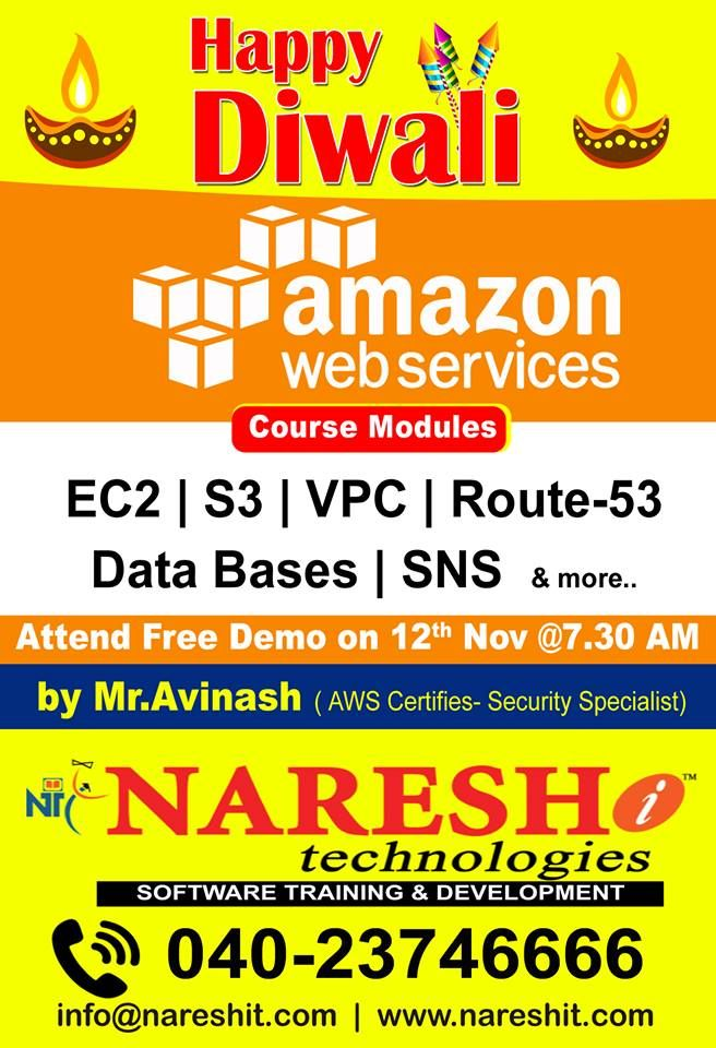Pin by Naresh IT on AWS Training | Train, Training classes
