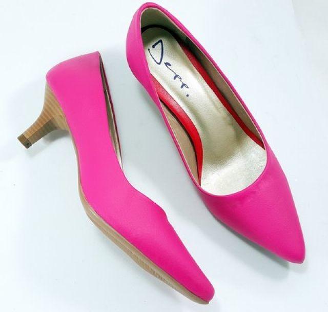 Sapato Scarpin Feminino Pink Fosco - Ref: 5050070