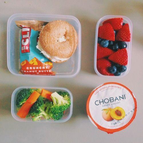 Simple, healthy lunch idea