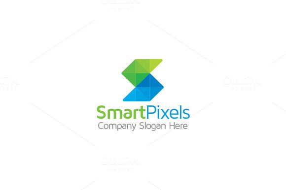 S Logo - Smart Pixels by Arslan on @creativemarket