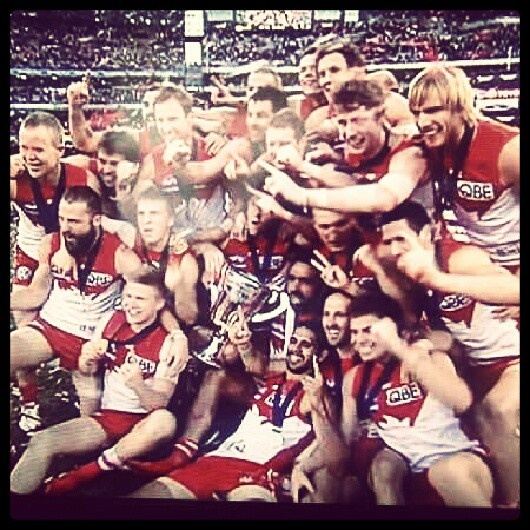 Pinnacle Of Fitness And Teamwork... Sydney Swans Grand Final...