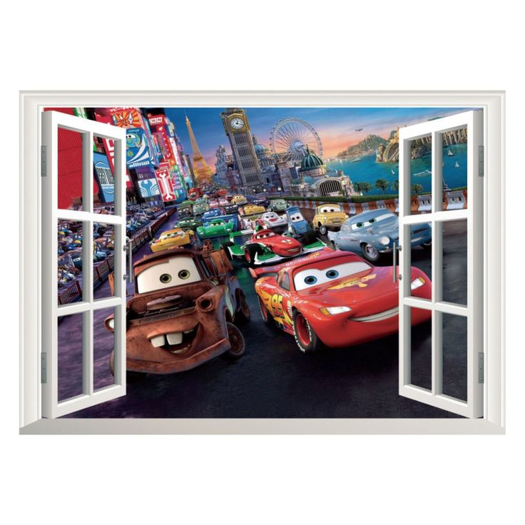 Disney/Pixar Cars Lightning McQueen And Mater   Wall Stickers Part 81