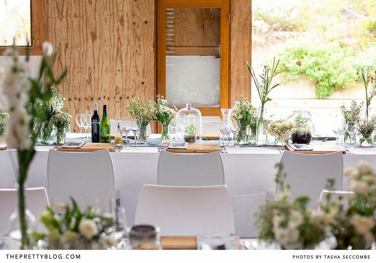 Natural tablescape | Photography: @Tasha Adams Adams Seccombe , Venue  Catering: Rockhaven