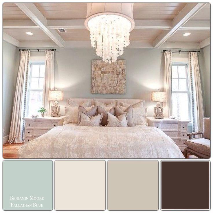 Bedroom Colour Schemes: Pinterest