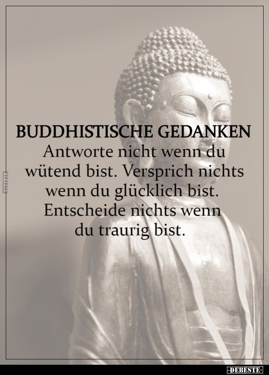 Buddhist thoughts