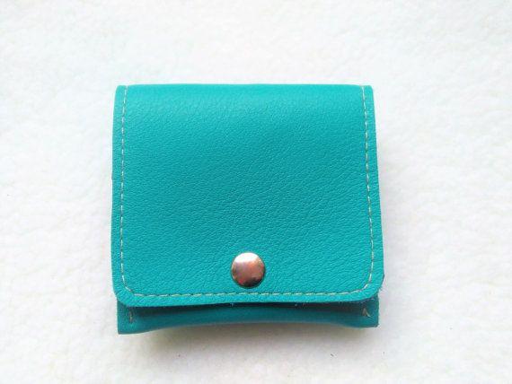 Monedero para Hombre Azul Turquesa Cartera de Piel por JYNzapateros