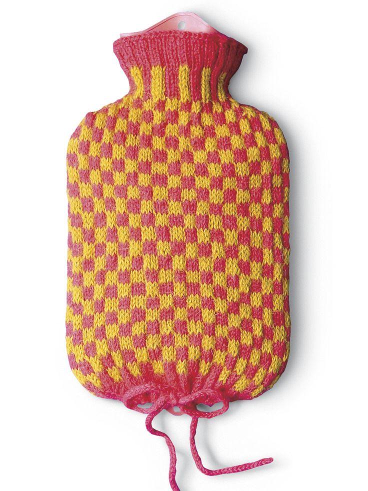 Knitting Pattern For Hot Water Bottle Cozy : 17 Best images about crochet cozie on Pinterest Crochet ...