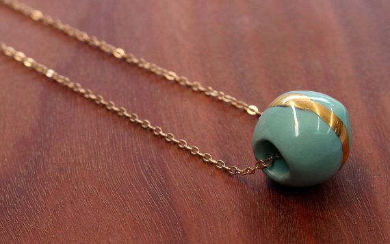 FTC-P-0208 Greener on the Other Side Pendant by FlowntheCoup