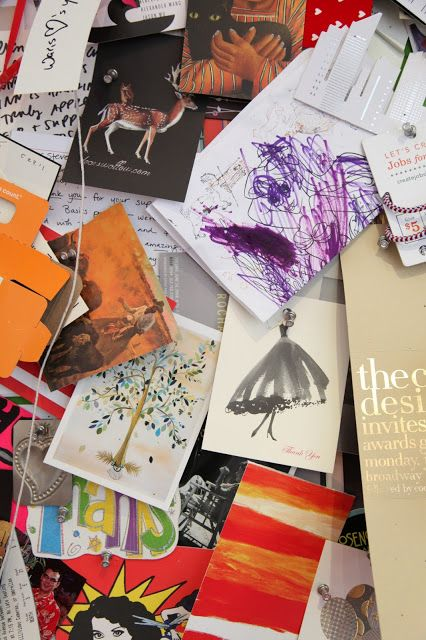 Habitually Chic®: Chic at Work: Steven Kolb of @CFDA  We made it on his moodboard!