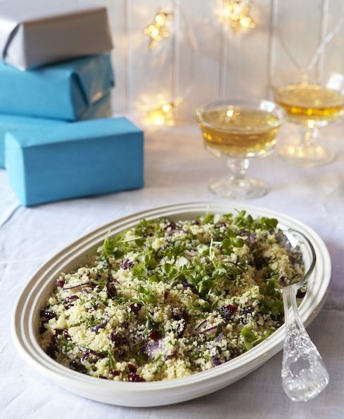 'Couscous is one of the easiest and fastest grains to cook, and this particular version is full of flavour and ideal for special occasions.'