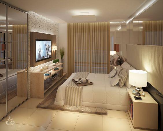 Oltre 25 fantastiche idee su tv da camera da letto su for Planimetrie della master suite