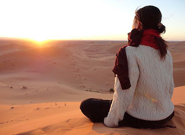 Yoga Retriet in the Sahara, Merzouga, Morocco