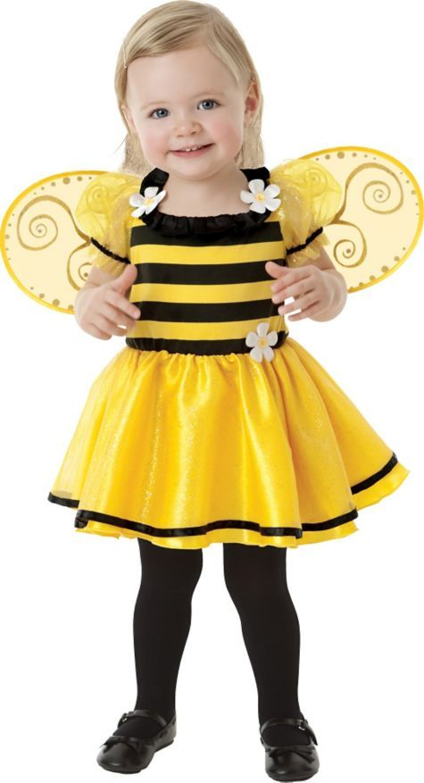 Baby Little Stinger Bee Costume - Baby Girl Costumes - Baby Costumes - Halloween Costumes - Party City