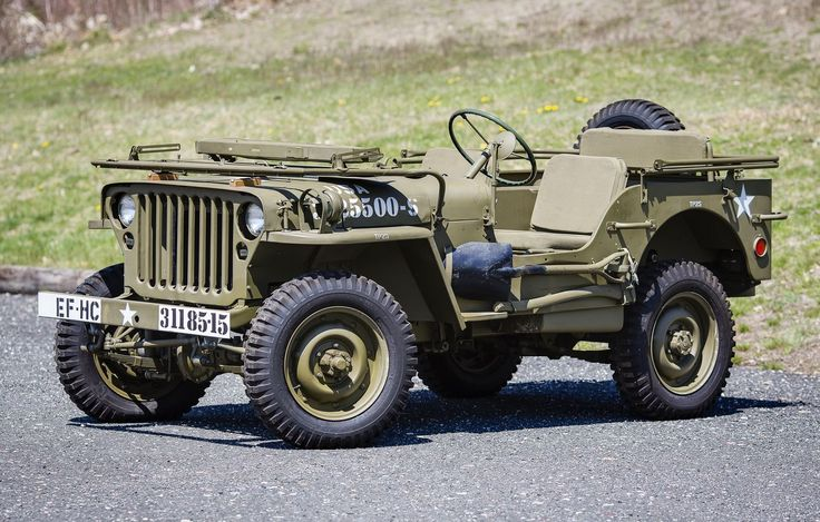 """Found in crate"" 1944 Willys MB Jeep to cross the block 