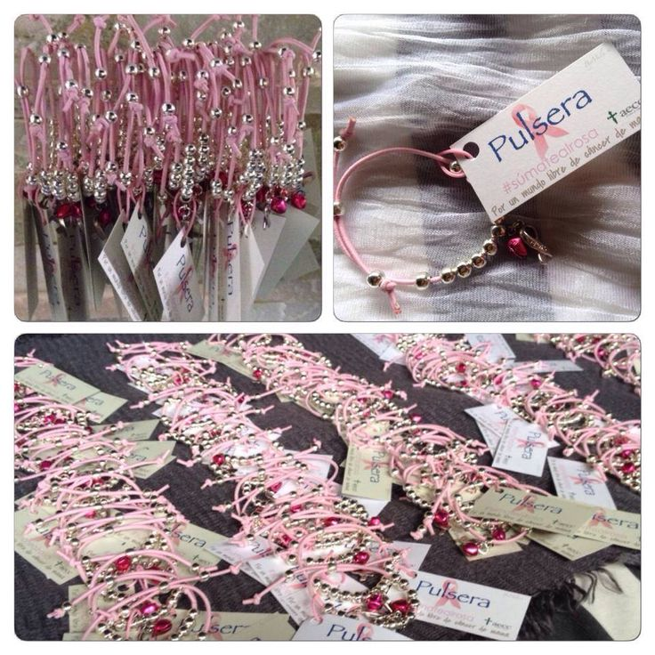11 best pulseras s mate al rosa images on pinterest - Aecc regalos boda ...