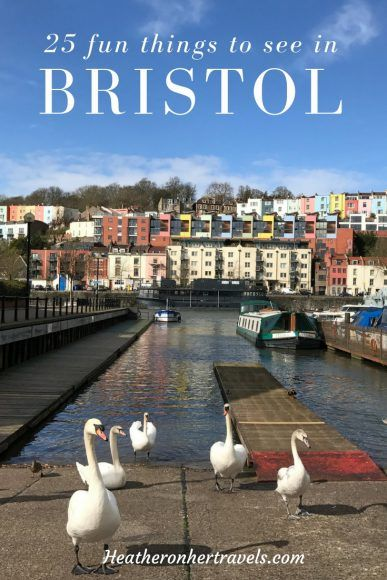 Read about 25 fun things to see and do in Bristol with your friends