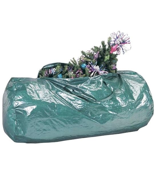 Use This Green Artificial Tree Storage Bag To Keep Your Christmas Tree  Safely Stored In Your