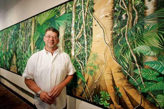César Bertel, pintor colombiano Para saber más sobre personas que marcan la diferencia sostenible visita www.solerplanet.com