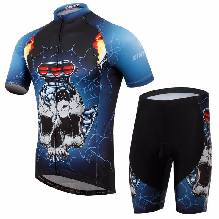 Skull Road Bike C... has just been added to our store. Get it here while still available http://everythingskull.com/products/skull-road-bike-clothing-set-cheap-summer-mens-cycling-wear-and-shorts-quick-dry-breathable-triathlon-sportswear?utm_campaign=social_autopilot&utm_source=pin&utm_medium=pin